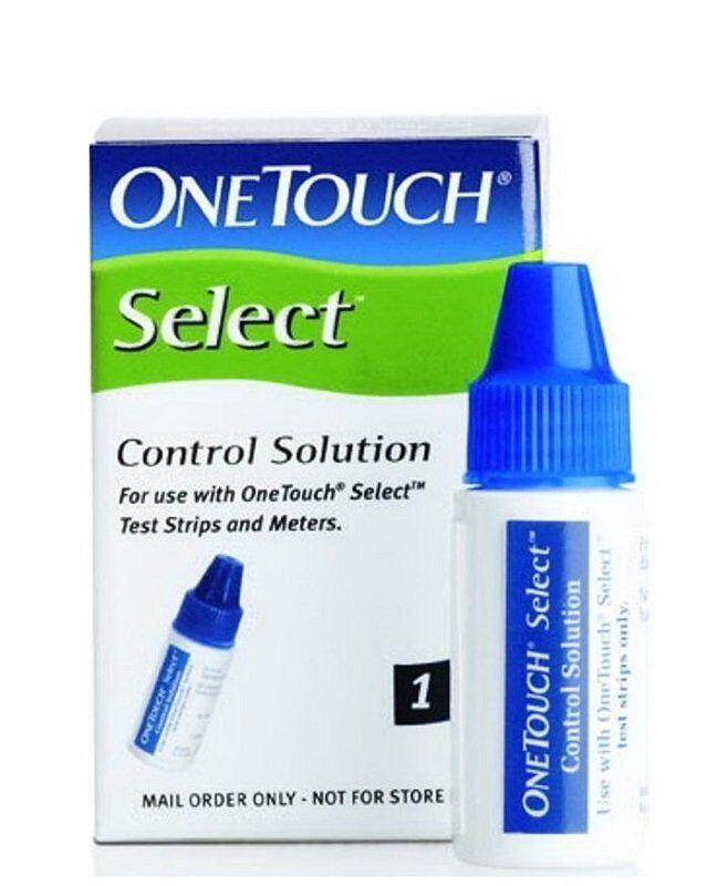 Контрольный раствор глюкозы onetouch select ВанТач Селект  Контрольный раствор глюкозы onetouch select 3 75 мл